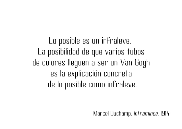 Marcel Duchamp infraleve